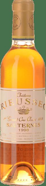 CHATEAU RIEUSSEC 1er cru classe, Sauternes 1998