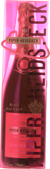 PIPER HEIDSIECK  Rose Sauvage Brut, Champagne NV