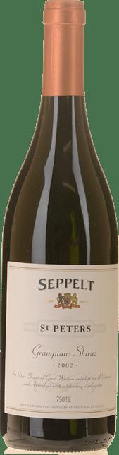 SEPPELT St Peters Great Western Vineyards Shiraz, Grampians 2002