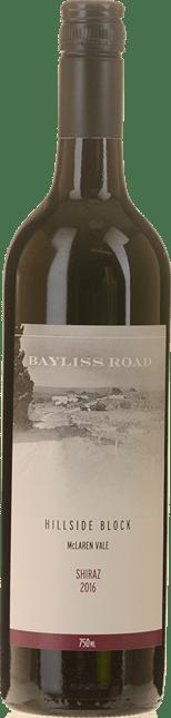 LUCA VINEYARDS Bayliss Road Hillside Block Shiraz, McLaren Vale 2016