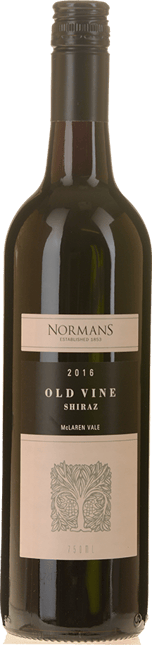 NORMANS Old Vine Shiraz, McLaren Vale 2016