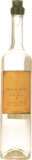 ILEGAL MEZCAL Special Edition Mezcal Joven 40% ABV, Mexico NV