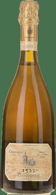 PHILIPPONNAT Cuvee 1522 Grand Cru, Champagne 2000