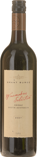GRANT BURGE Winemakers Selection Shiraz, South Australia 2007