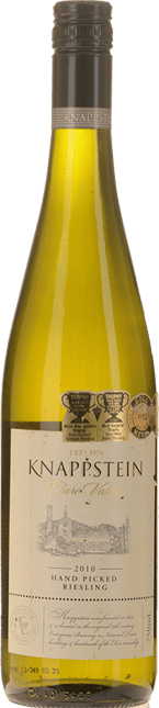 KNAPPSTEIN WINES Hand Picked Riesling, Clare Valley 2010
