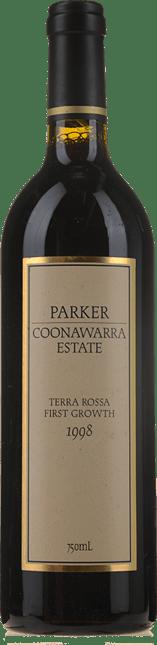 PARKER COONAWARRA ESTATE Terra Rossa First Growth, Coonawarra 1998
