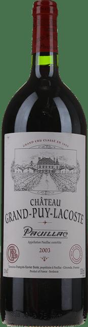 CHATEAU GRAND-PUY-LACOSTE 5me cru classe, Pauillac 2003