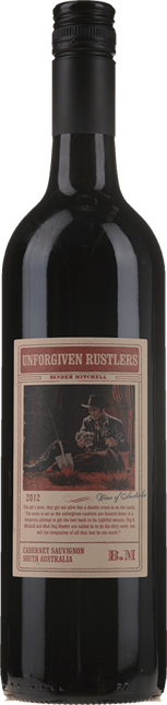 BINDER MITCHELL Unforgiven Rustlers Cabernet, South Australia 2012