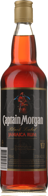 CAPTAIN MORGAN Black Label Rum NV