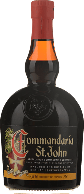 KEO Commandaria St. John Dessert Wine Liqueur, Cyprus NV