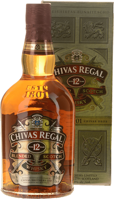 CHIVAS REGAL 12 Year Old 40% ABV, Scotland NV
