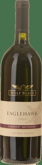 WOLF BLASS WINES Eaglehawk Cabernet, South Australia 2004