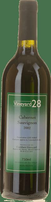 CUMBERS VINEYARD Vineyard 28 Cabernet, Australia 2002