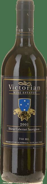WINGARA WINE GROUP Victorian Wine Estate Shiraz Cabernet, Victoria 2001