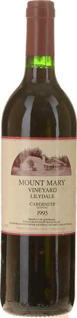 MOUNT MARY Quintet Cabernet Blend, Yarra Valley 1995