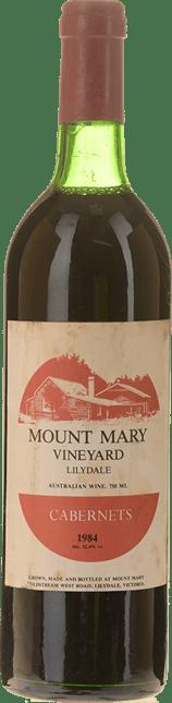 MOUNT MARY Quintet Cabernet Blend, Yarra Valley 1984