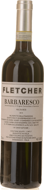 FLETCHER WINES Recta Pete Barbaresco , Barbaresco DOCG 2014