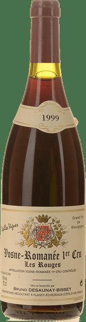 BRUNO DESAUNAY-BISSEY Les Rouges Vieilles Vignes 1er cru, Vosne-Romanee 1999