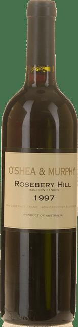 O'SHEA & MURPHY Rosebery Hill Cabernets, Macedon 1997