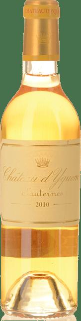 CHATEAU D'YQUEM 1er cru superieur, Sauternes 2010