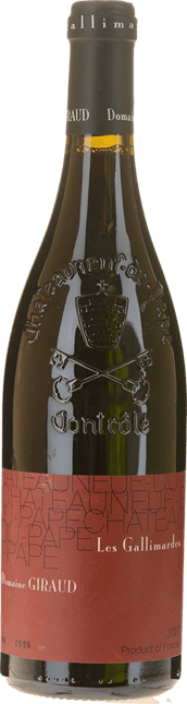 DOMAINE GIRAUD Les Gallimardes, Chateauneuf-du-Pape 2007