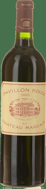 PAVILLON ROUGE DU CHATEAU MARGAUX Second wine of Chateau Margaux, Margaux 2005