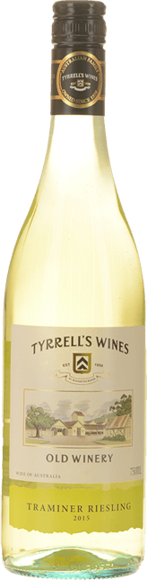 TYRRELL'S Old Winery Traminer-Riesling, Hunter Valley 2015