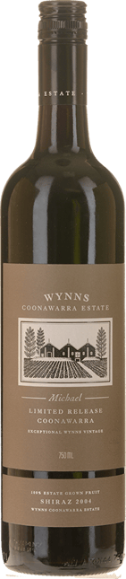 WYNNS COONAWARRA ESTATE Michael Shiraz, Coonawarra 2004