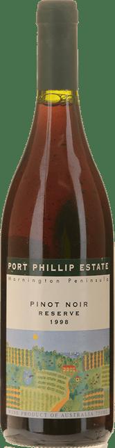 PORT PHILLIP ESTATE Reserve Pinot Noir, Mornington Peninsula 1998