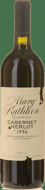 CORIOLE Mary Kathleen Reserve Cabernet Merlot Cabernet Franc, McLaren Vale 1996
