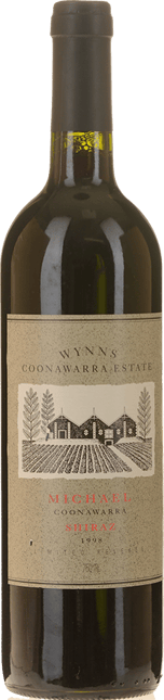 WYNNS COONAWARRA ESTATE Michael Shiraz, Coonawarra 1998