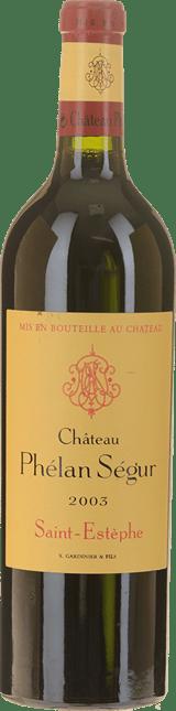 CHATEAU PHELAN-SEGUR Cru bourgeois, St-Estephe 2003