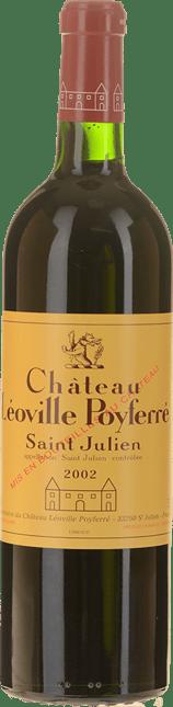 CHATEAU LEOVILLE-POYFERRE 2me cru classe, St-Julien 2002