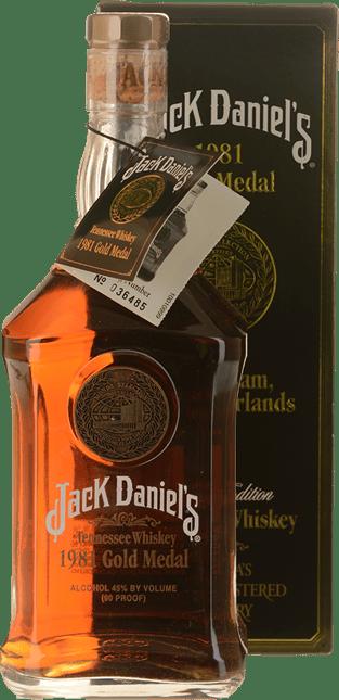 JACK DANIEL'S 1981 Gold Medal ABV 45%, Tennessee NV