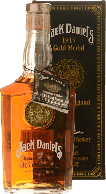 JACK DANIEL'S 1915 London England Gold Medal Tennessee Whiskey 45% ABV, Tennessee NV