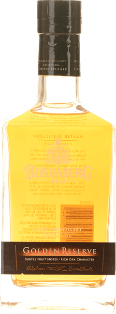 BUNDABERG Master Distillers Collection Golden Reserve 40% ABV, Bundaberg NV