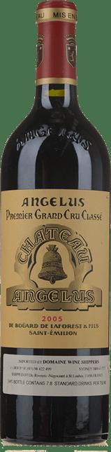 CHATEAU ANGELUS 1er grand cru classe (A), St-Emilion 2005