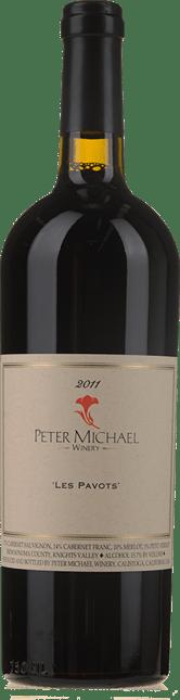 PETER MICHAEL WINERY Les Pavots Cabernet Merlot Cabernet Franc, Knights Valley 2011