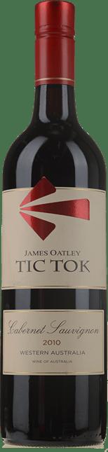 OATLEY WINES James Oatley Tic Tok Cabernet, Western Australia 2010