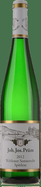 JOH. JOS. PRUM Wehlener Sonnenuhr Riesling-Spatlese, Mosel-Saar-Ruwer 2012