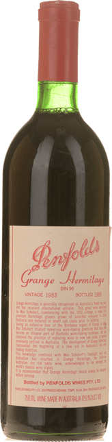 PENFOLDS Bin 95 Grange Shiraz, South Australia 1983