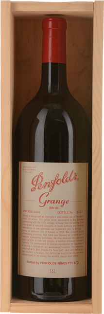 PENFOLDS Bin 95 Grange Shiraz, South Australia 2006