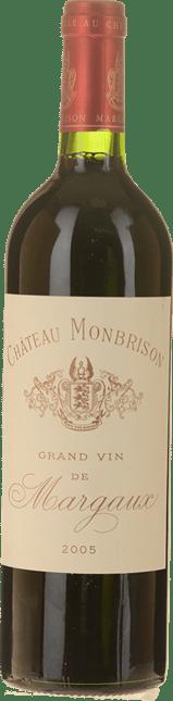 CHATEAU MONBRISON Cru bourgeois, Margaux 2005