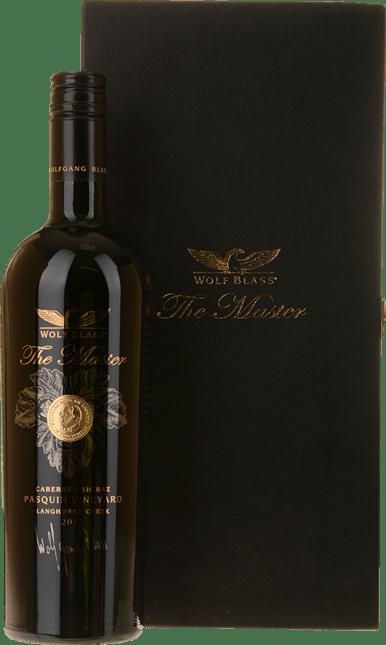 WOLF BLASS WINES The Master Pasquin Vineyard Cabernet Shiraz, Langhorne Creek 2012