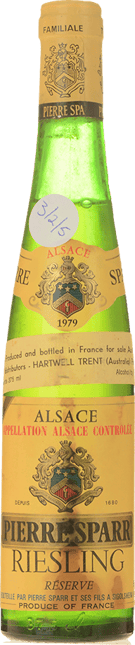 PIERRE SPARR Reserve Riesling, Alsace 1979