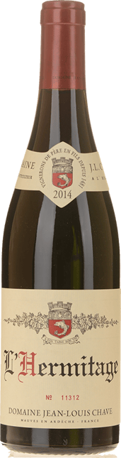 J.L. CHAVE Rouge, Hermitage 2014