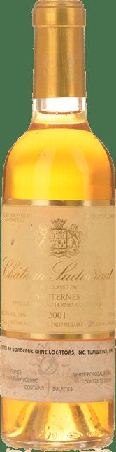 CHATEAU SUDUIRAUT 1er cru classe, Sauternes 2001
