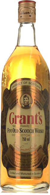 GRANT'S Special Family Reserve 43% ABV , Scotland NV