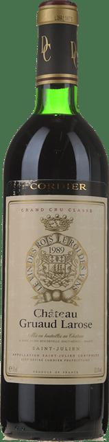 CHATEAU GRUAUD-LAROSE 2me cru classe, St-Julien 1989