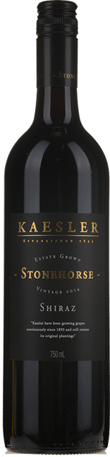 KAESLER WINES Stonehorse Shiraz, Barossa Valley 2014